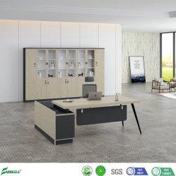 도매 공장 가격 나무로 되는 가구 MDF 멜라민 현대 사무실 행정상 책상 가구 (AB1853A-1400)