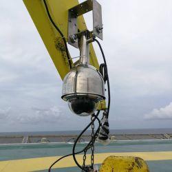 نظام مراقبة سلامة رافعة الحفر البحرية اللاسلكية لصناعة النفط