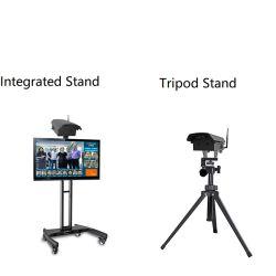 Infrarotdigital-Thermometer-Fühler-Karosserien-Temperatur-Scanner mit CCTV-thermischem Toner