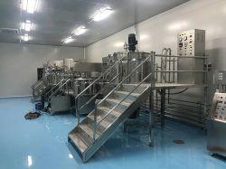 液体洗剤の蒸気暖房の化学作成Dishwashingのゲル混合装置のためのホモジェナイザーのミキサーのタイプそして新しい条件のかくはん機のミキサーの混合のミキサータンク