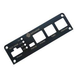 Leiterplatte bearbeitete Aluminium Halterung Befestigungsplatte gravieren Laser Marking Siebdruck Maßgeschneiderte CNC-Bearbeitungsdienstleistungen Fabrik