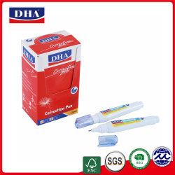 高品質の学校の&Office Dh812で使用される無毒な金属先端の訂正のペンの中国の製造者