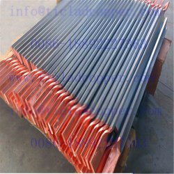 Ti vêtu de barre de bus Conducteur en cuivre pour la métallurgie de l'industrie de l'Anode/ titane cuivre plaqués/ Barre de bus en titane