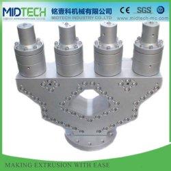O tamanho padrão de vendas quente amplamente personalizadas moldes de plástico para tubos com placa de folha de perfil