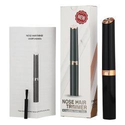 Commerce de gros personnalisé Electric Mini les poils du nez/Tondeuse sourcils Portable les poils du nez de l'oreille rasoir Hommes