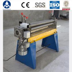 Электрический асимметричный 3 ролика изгиба листовой металл / складывание машины качения