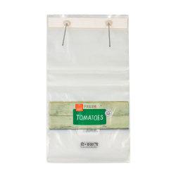 食品等級のカスタムロゴの印刷のプラスチック窓口のトマトは自動包装を袋に入れる