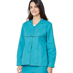 Langarm Cyan Krankenhaus Medizinische Scrubs Arzt Uniform Frauen China Großhandel