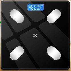 浴室の Bluetooth のスマートな電子ボディ脂肪質のバランス