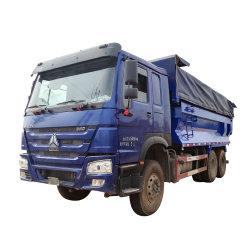 신기술 32 Cbm 덤프 트럭 사용된 덤프 반 트레일러 트럭 중국 사람 트럭