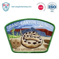 100%年のEmbroideryのための高品質Embroidery Scout Patch Patch