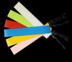 Lámina electroluminiscente Cuttable y empalme para Cartel parpadeante de 0,3 mm 10 colores Electroluniminescent EL Backlight del panel Personalizar