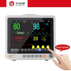 Bon marché de 12,1 pouces écran tactile du moniteur patient Multi-Parameter medical pour essai de santé des ménages et les soins infirmiers