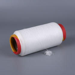China Factory Acy 75D/36f+20d Spandex Polyester Air Covered 2075 for Sokken Polyester garen