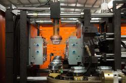 Schlag-formenmaschine der Flaschen-J2 nimmt hoch entwickeltes Mikrocomputer PLC-Kontrollsystem an