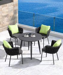 Мебель Портативная открытый складной металлический пикник чай таблица стулья