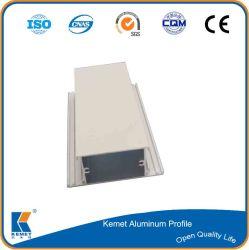 알루미늄 유리 도어 윈도우 텐트 튜브 섹션 프레임 6063 - T5 Akzo ISO9001을 통한 성능