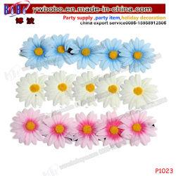 Hoofdband Hairband van de Elastic Flower de BloemenSlinger van het Haar van Daisy Festival Wedding (P1023)