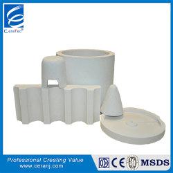 Tc 1260, el aislamiento de fibra cerámica de alta temperatura forma al vacío