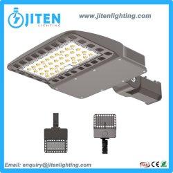 IP66 étanche 100-300W LED réglable Shoe Box Domaine stationnement carré de la lumière de la rue pour l'extérieur de la route principale route d'éclairage sur le trottoir avec cellule photoélectrique