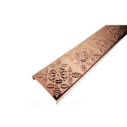 Aço inoxidável preço Folha a folha de cor de aço inoxidável em forma de guarnições de quarto decorativos Wall
