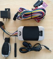 Wired Dispositivo de localización GPS de vehículos de motor con el CAC alarma T303