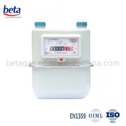 Carcasa de acero inoxidable diafragma medidor de gas