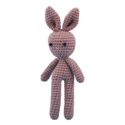 Van het de babycomfort van de creativiteit het leuke speelgoed van het de pluchekonijntje dierlijke konijn gebreide