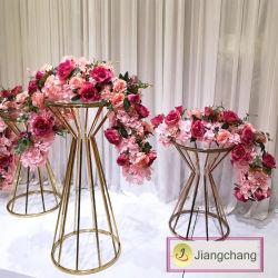 De gros de pièces maîtresses de mariage en Acrylique Crystal Tall Rectangle statif/de Fleur Fleur d'affichage du statif