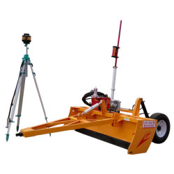Agricultura Motoniveladora Laser/ Terra Laser Nivelamento da Máquina/Laser Terra plana a máquina para Fazenda