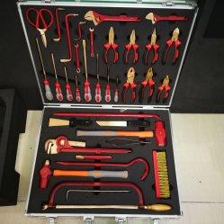 مجموعة إدراج الإسفنج المخصص في تنظيم الأدوات لصندوق الأدوات