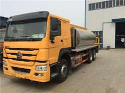 336CV Sinotruck HOWO 6X4 18 cbm betún de asfalto camión cisterna de pulverización para la venta