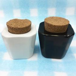 Armazenamento de cerâmica recipiente caixas de unhas de cerâmica Arte Ferramentas Acessórios