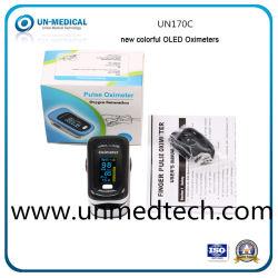 Home Care Marcação Sport SpO2 satélite de oxímetro de pulso de oxigênio arterial