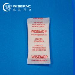 Bustina di assorbimento rapido dell'acqua da 2 g Wisemop