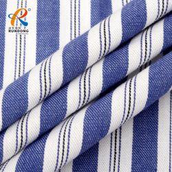 Venta caliente Plain teñido de refrigeración instantánea Algodón de poliéster reciclado textil tejido tejido piqué doble