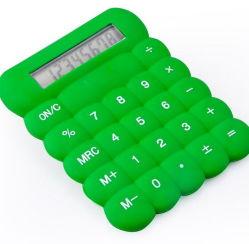 Les petites bon marché pour la promotion de la calculatrice de silicone