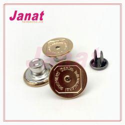 Золотой цвет металлические 2 Контакт кнопки на Ближнем с небольшой Crystal Reports, кнопка с люка камнеуловителя