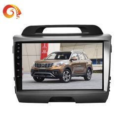 Handboek 2 DIN 9/10 Inch Android 8.1/9.0 HD 1080P Full Touch Screen Mirror 2 DIN Car Stereo Car Radio Player DVD Player met GPS Bluetooth WiFi voor KIA Chi Run