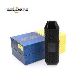 Productos calientes Zolo hierba seca de color negro E-cigarrillo vaporizador