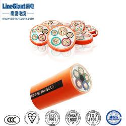 Niedrig-Rauch 3+1 Halogen-Freier anorganischer MI elektrischer Wirecables (WTTEZ) /Guangzhou/Foshan/Shenzhen Isolierkanal