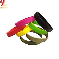Kundenspezifische Drucken-Silikon-Silikon-Armbandwristband-Handband-Förderung-Geschenke