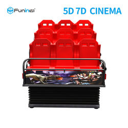 Enternainmet Simulator 7D Cinema 7D Theatre 7D 영화 판매 중