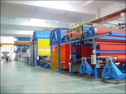 Automatic novo pano de publicidade/óleo/gás/Tape//Now-Woven Impermeável Fabric/pano de grade/fibra de vidro/Sofspraying equipamento/ máquina de pintura a pó