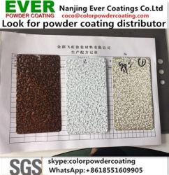Epoxid-Polyester-Antike-Silber-Kupfer-/Goldmessing/Bronzehammer-grosse Beschaffenheits-Hammer-Ton-Puder-Beschichtung