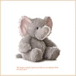 Очаровательный малыш слонов мягкие игрушки животных оптовая торговля продукта