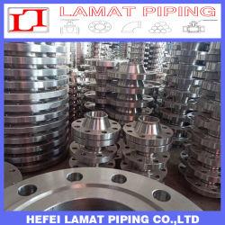 Um182 F321/F304/304L/904L/F316/316L/F53 Forjados Flange de Aço Inoxidável