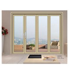 Китай двери производитель настроить корейского балкон ванная комната из алюминия опускное стекло двери