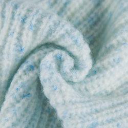 青をひっくり返すウール、ナイロン、レーヨンおよびポリエステルスペース染料が付いている3.9nm空気豪華なヤーン