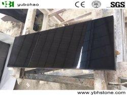 شانكسى الصينية المصقولة بالكامل من ألواح الجرانيت الأسود للحمام أو المطبخ